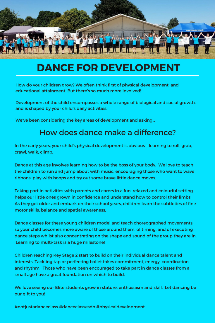 How does dance make a difference!?