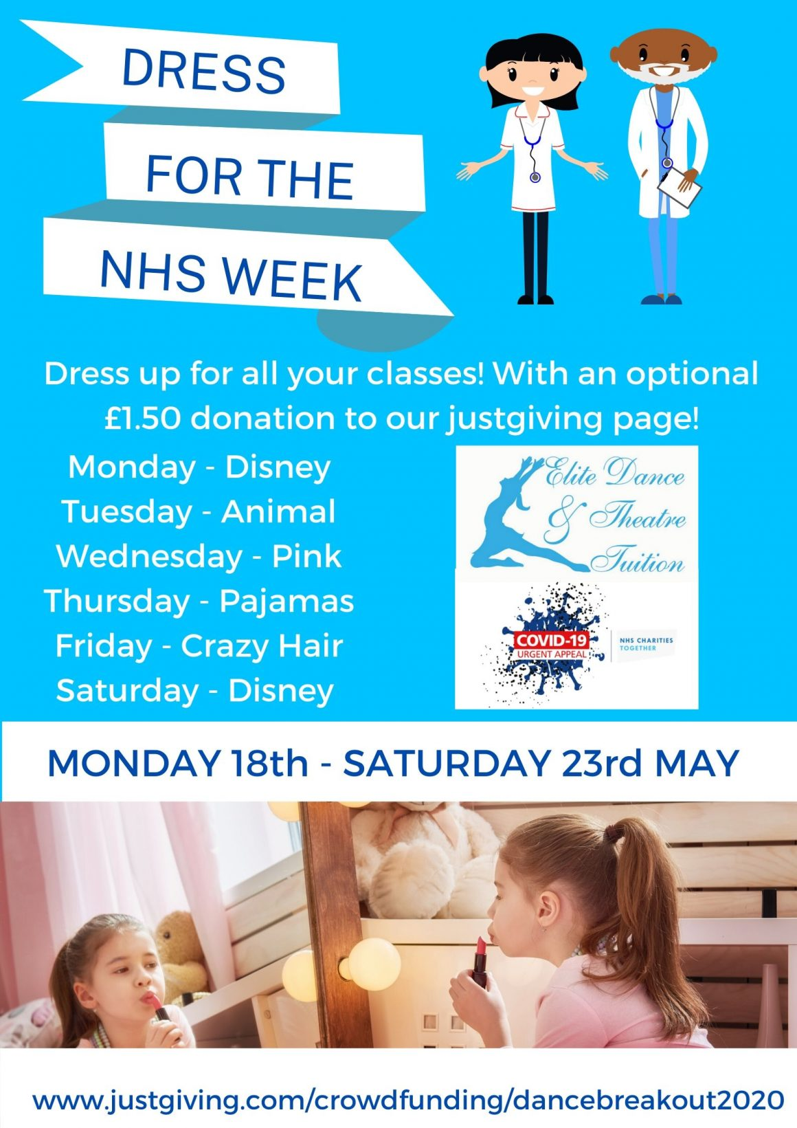 Dress For The NHS Week!
