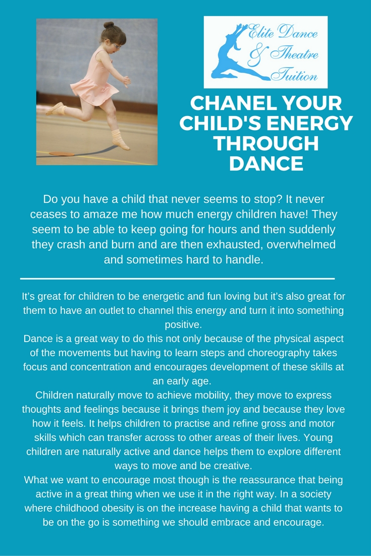Chanelling energy through dance!