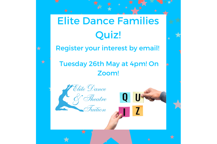 Half Term and the Elite Families Quiz!