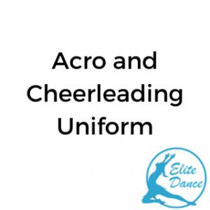 Acro and Cheer Uniform